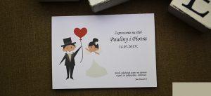 zaproszenie na ślub w humorystycznym wydaniu